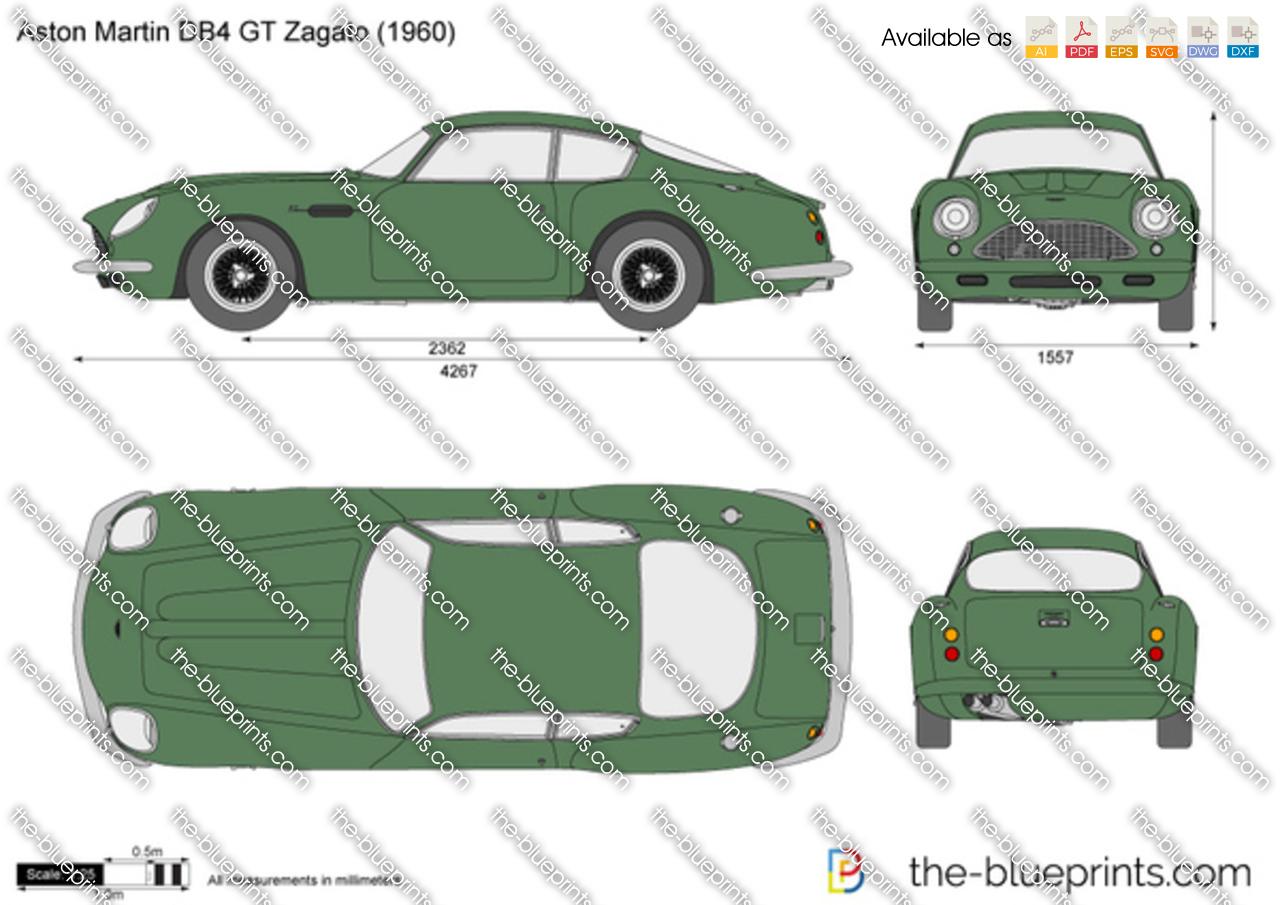 Aston Martin DB4 Zagato 1962