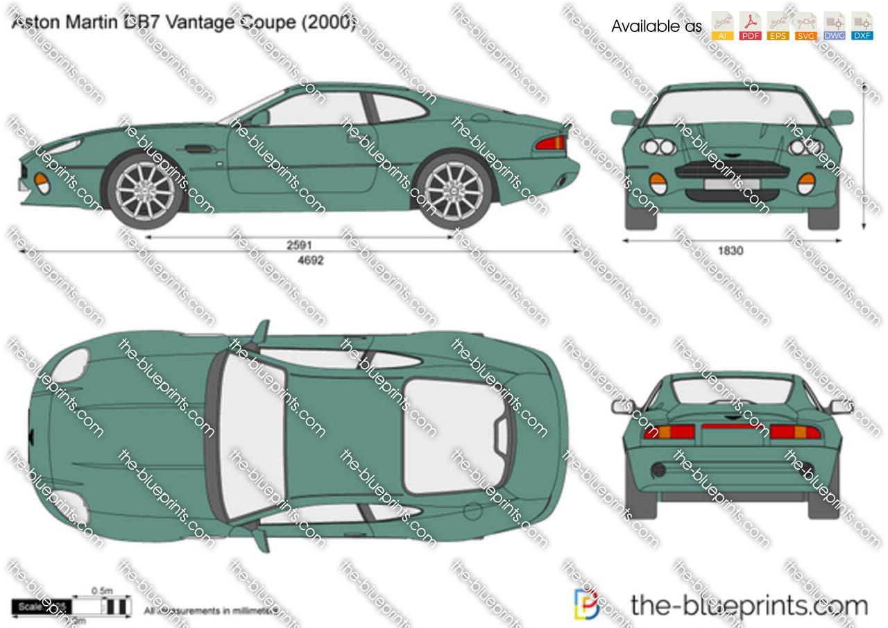 Aston Martin DB7 Vantage 1996
