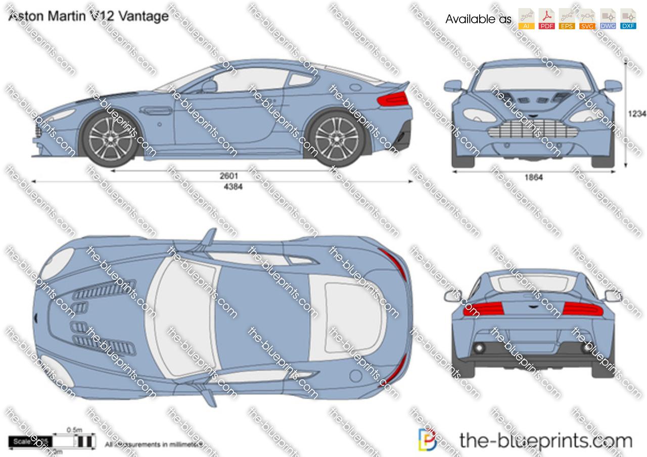 Aston Martin V12 Vantage 2012