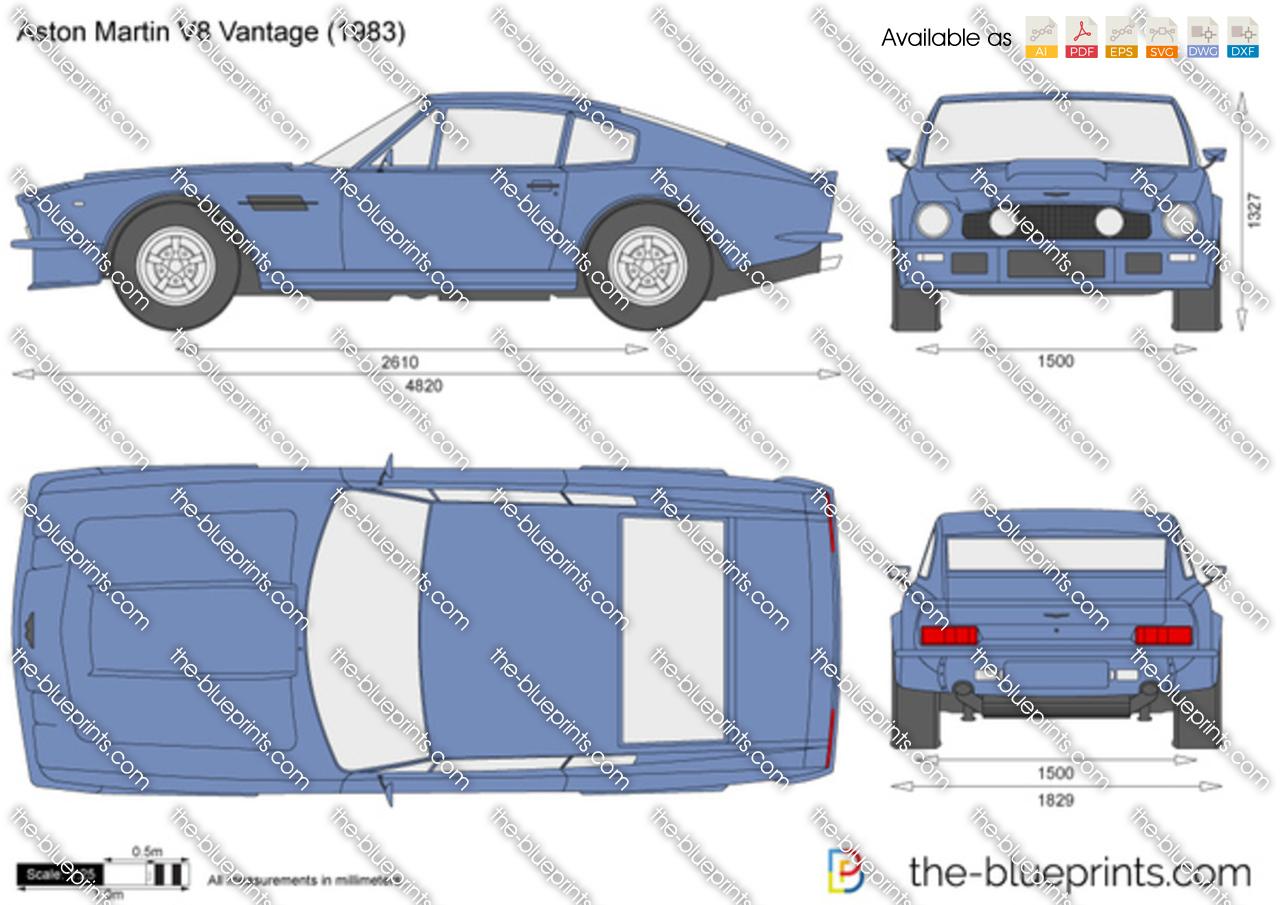 Aston Martin V8 Vantage 1989