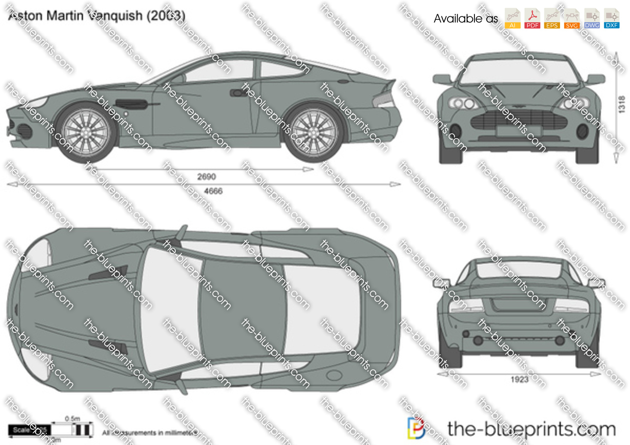 Aston Martin Vanquish 2004