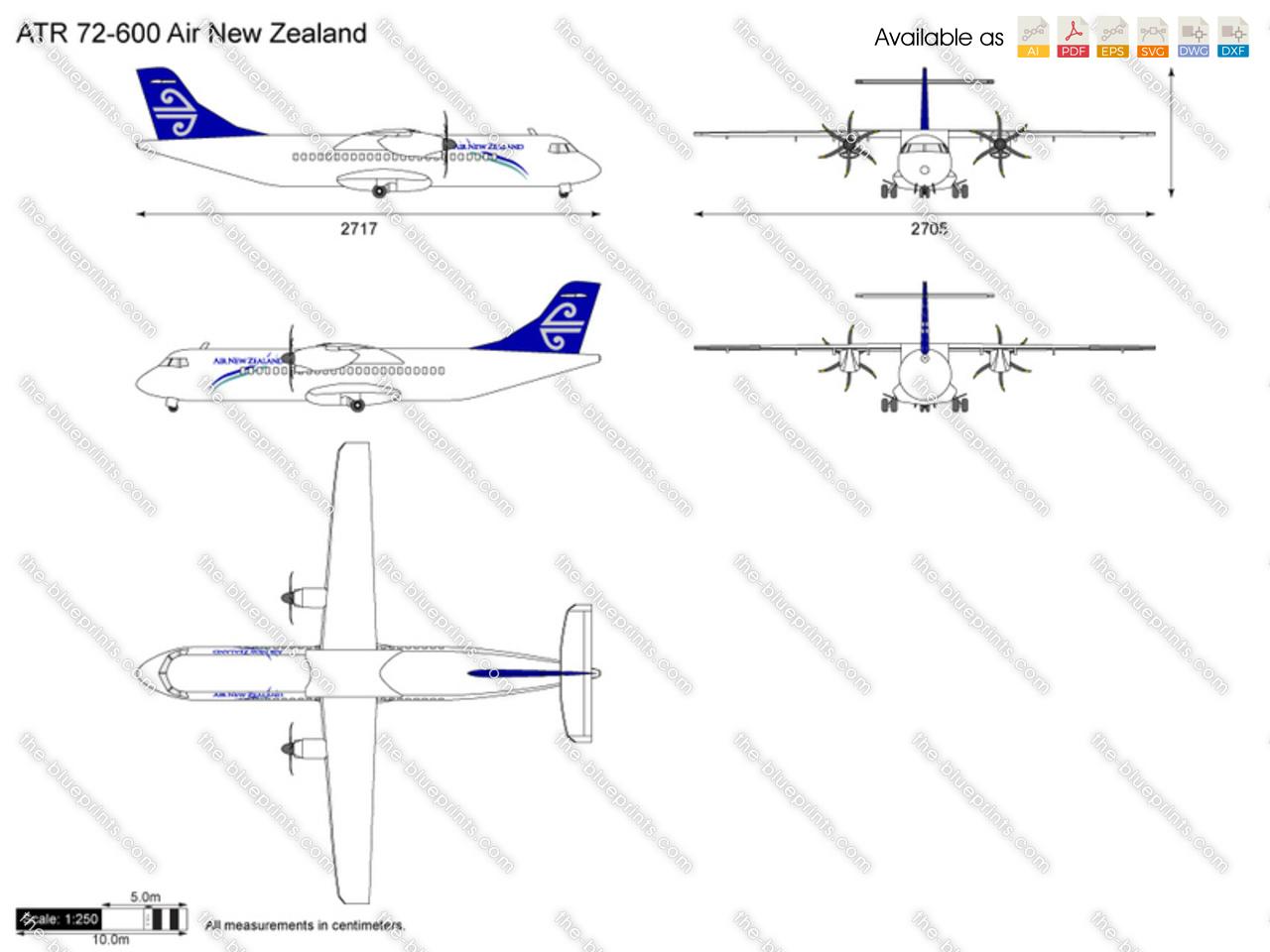 ATR 600 Air New Zealand