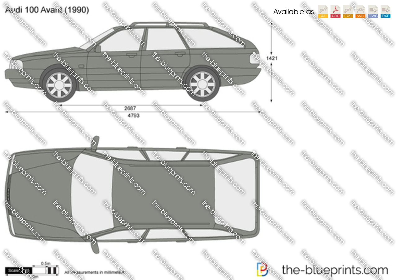 Audi 100 Avant 1987