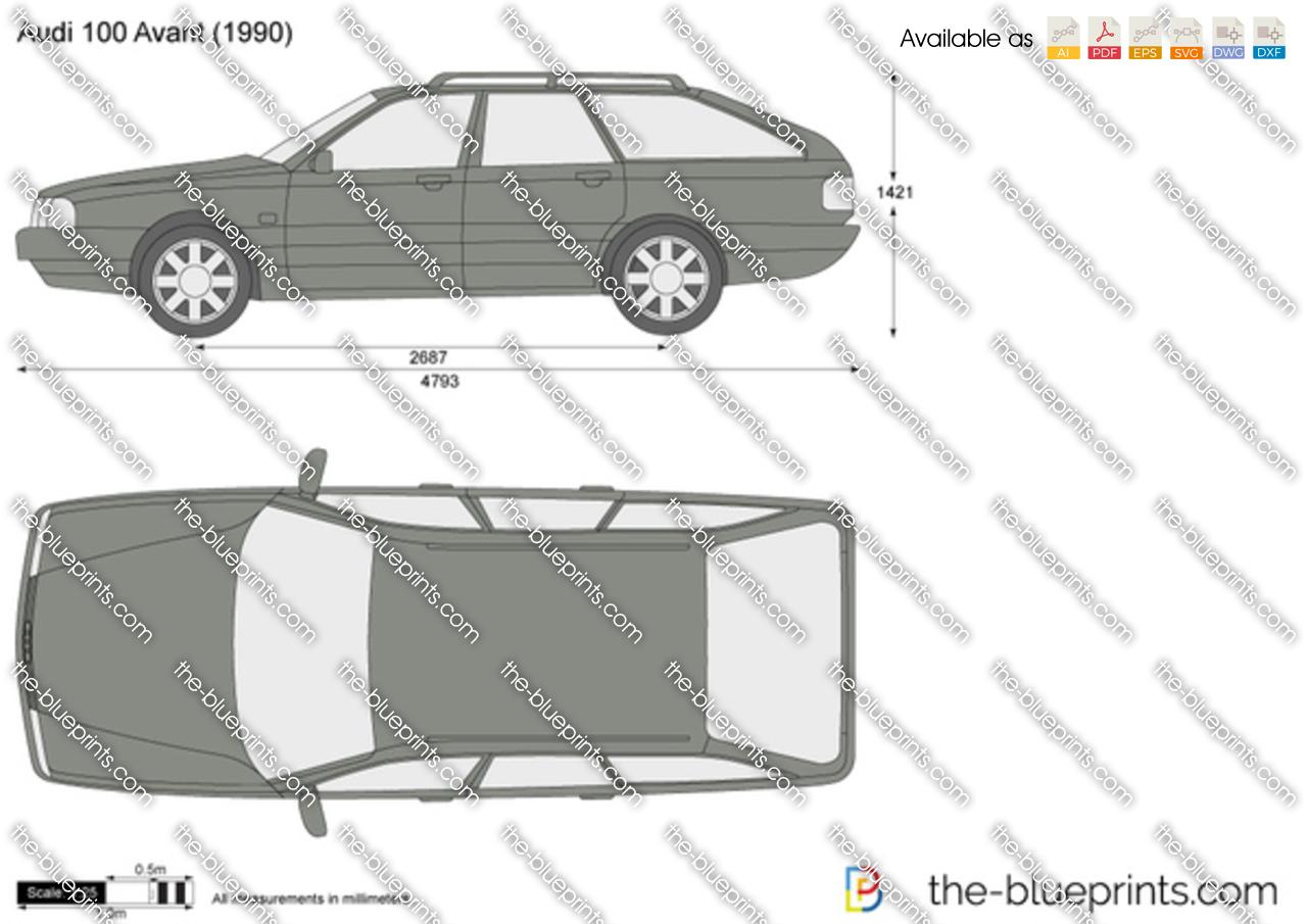 Audi 100 Avant 1989