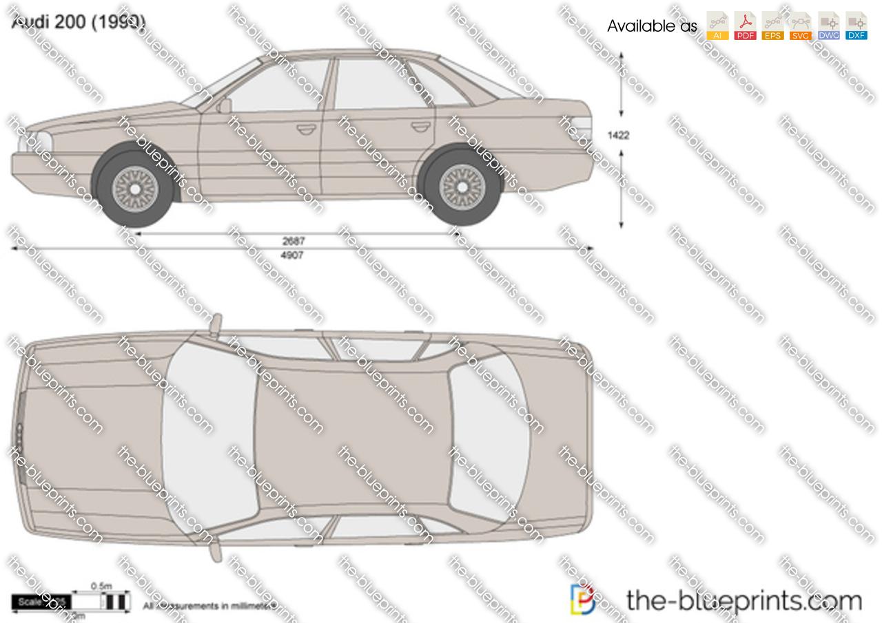 Audi 200 1991