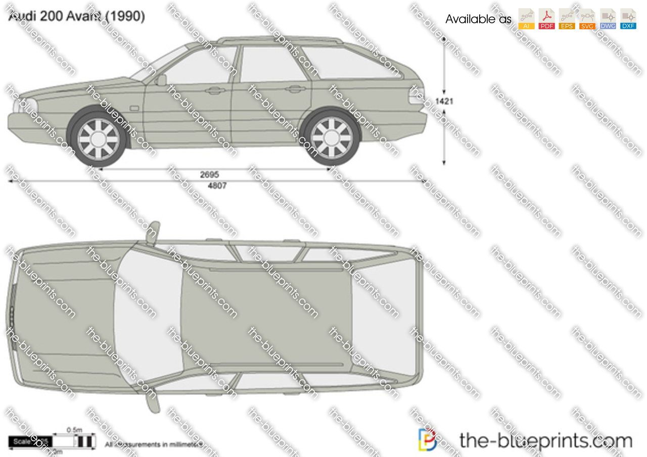 Audi 200 Avant 1987