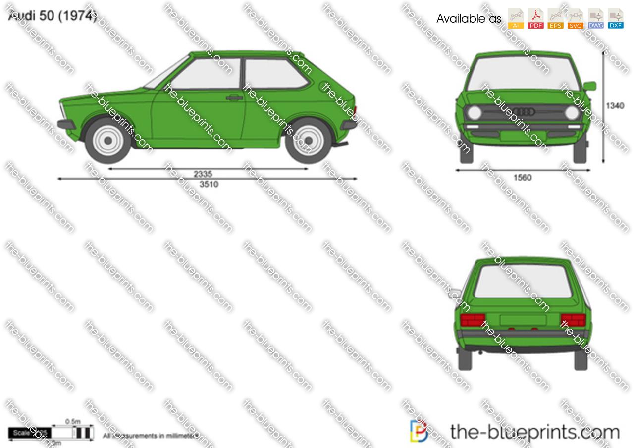 Audi 50 1978