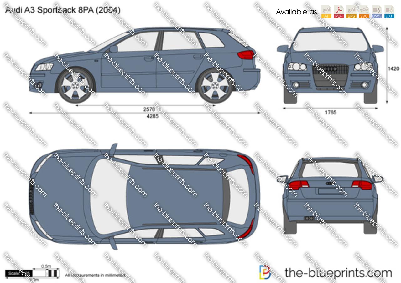 Audi A3 Sportback 8PA