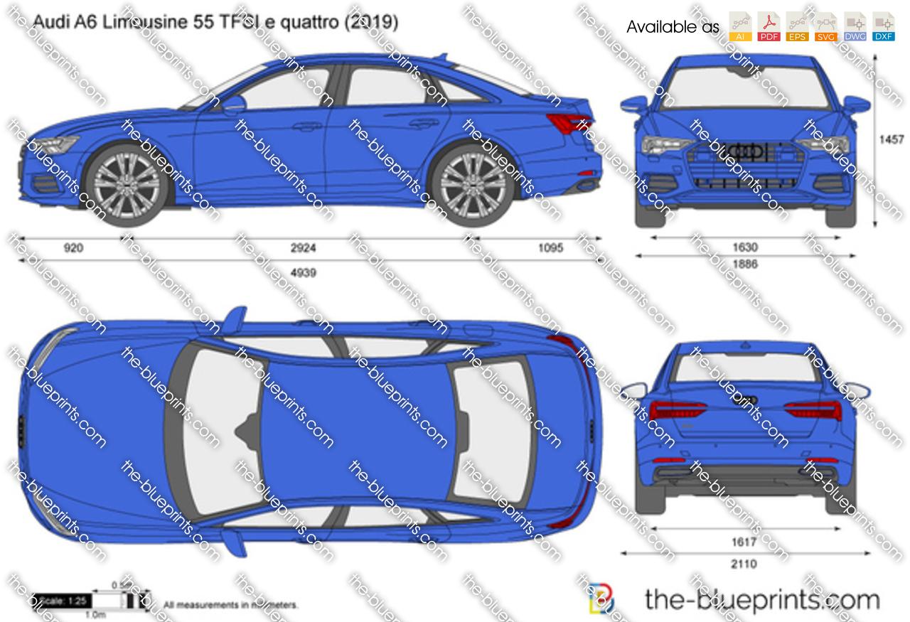 Audi A6 Limousine 55 TFSI e quattro