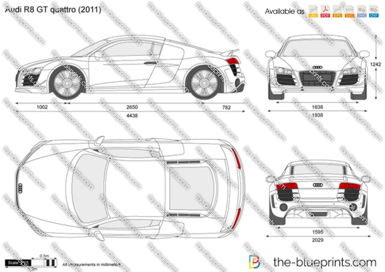 Audi R8 GT quattro 2012