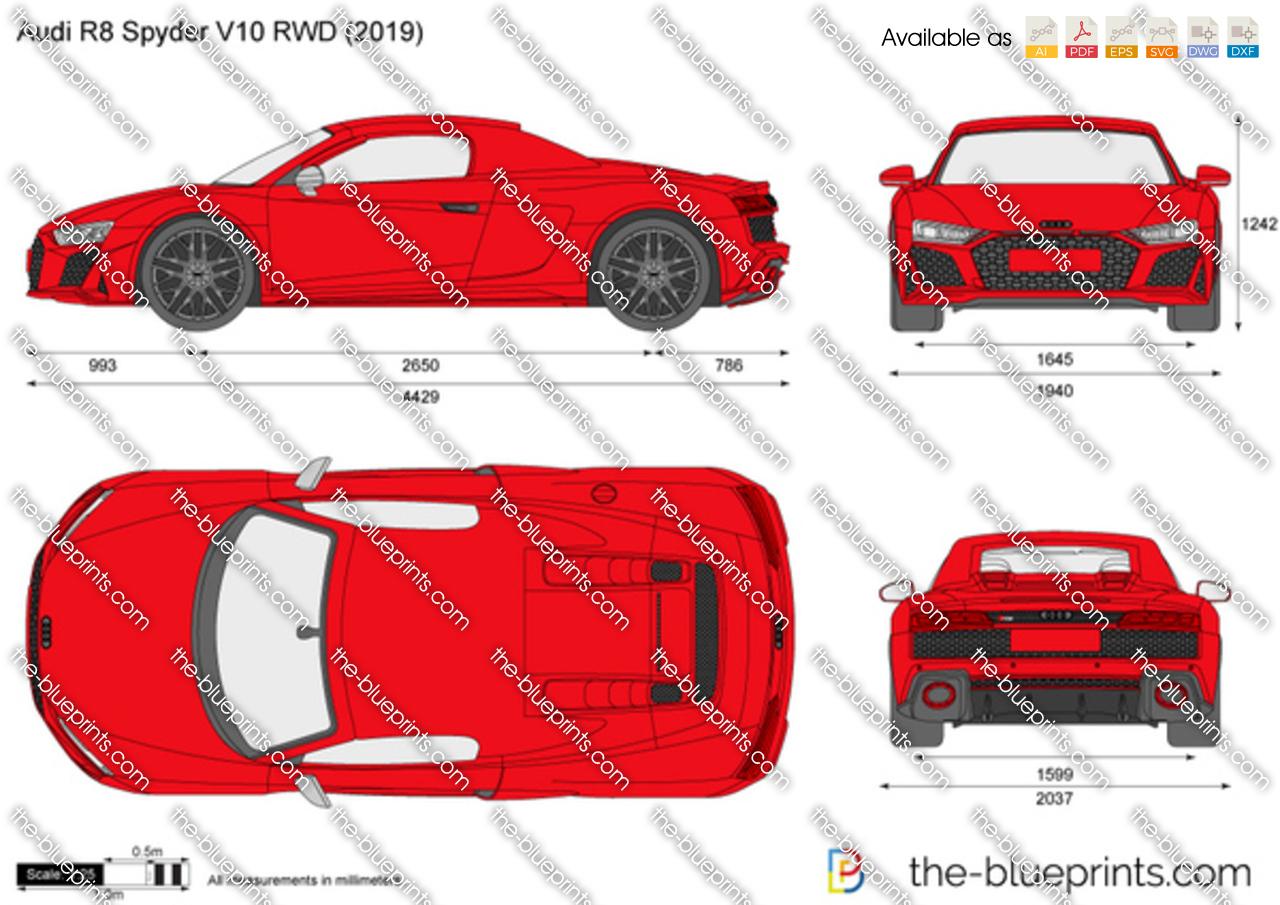 Audi R8 Spyder V10 RWD