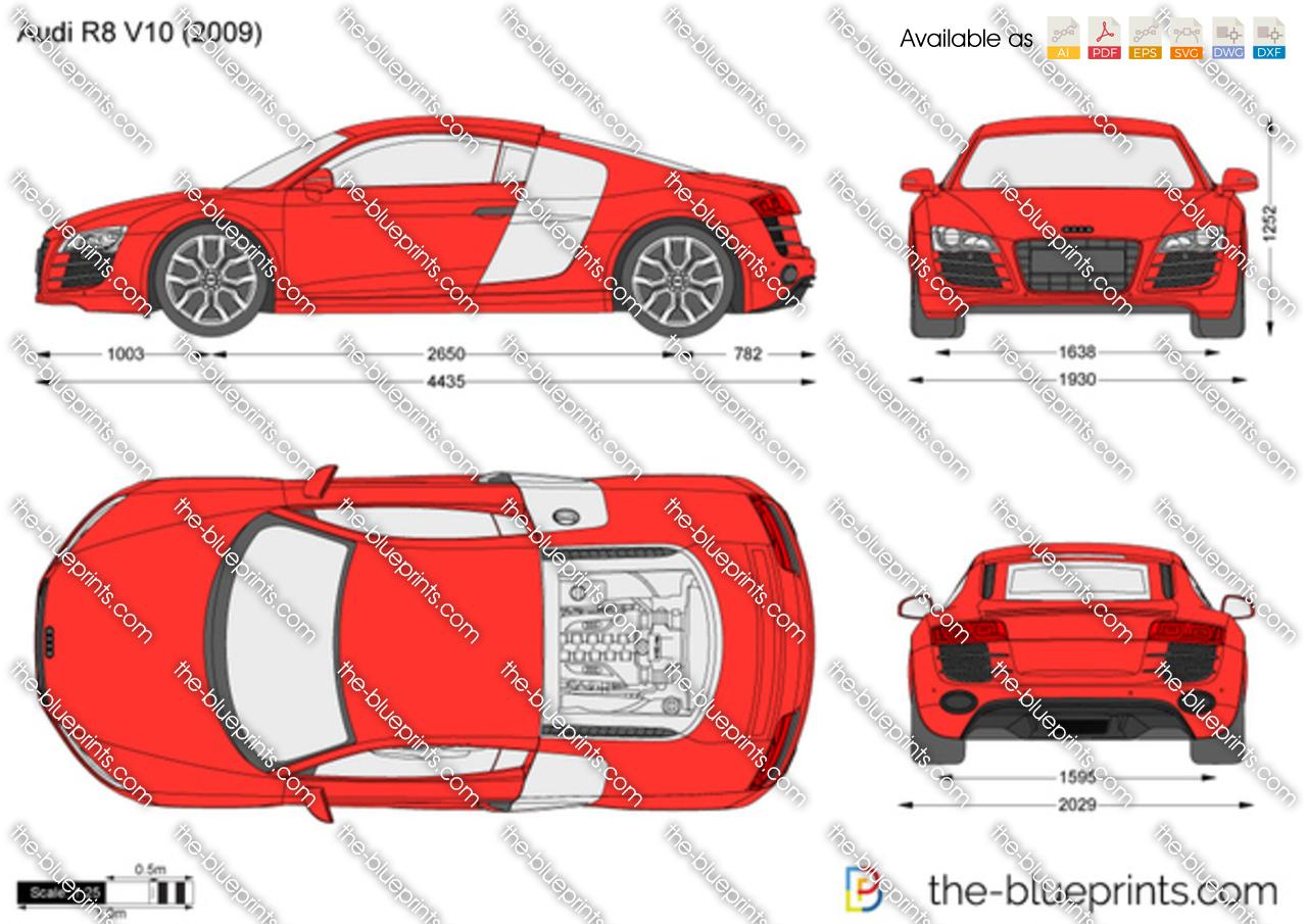 Audi R8 V10 2012