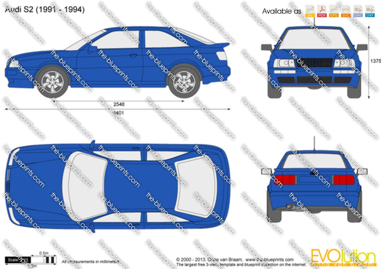 Audi S2 1991