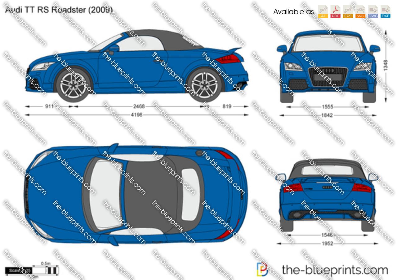 Audi TT RS Roadster 2012