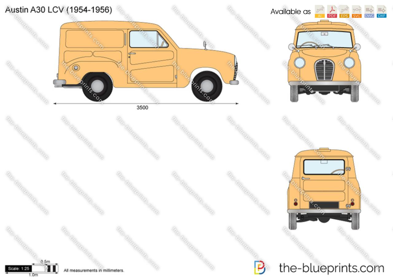 Austin A30 LCV