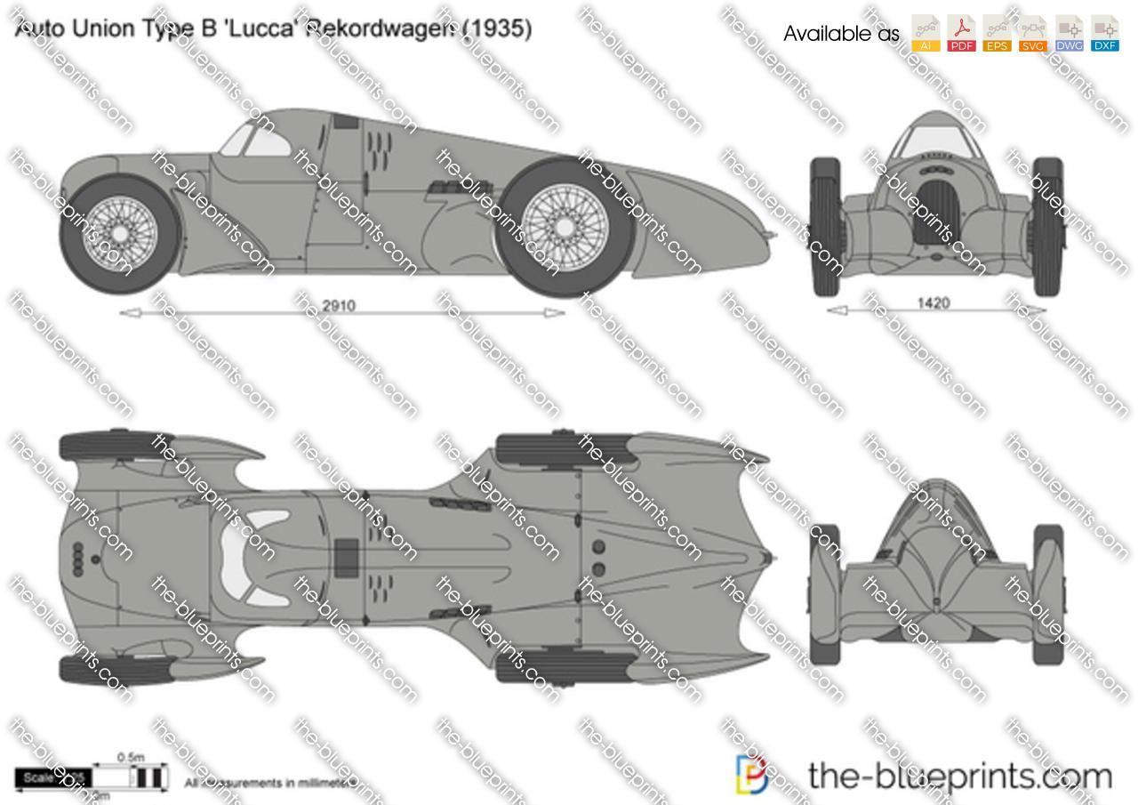 Auto Union Type B 'Lucca' Rekordwagen