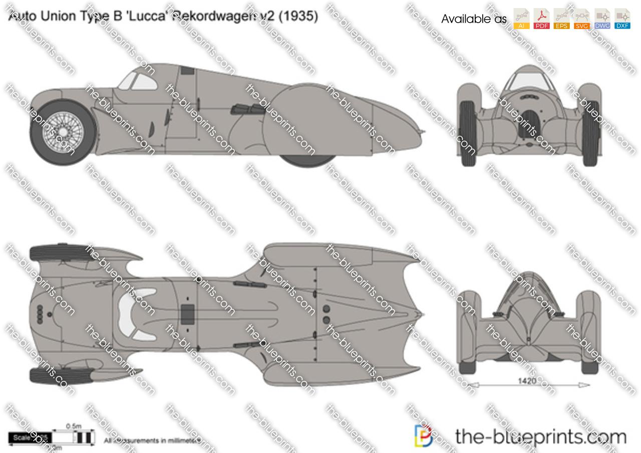 Auto Union Type B 'Lucca' Rekordwagen v2