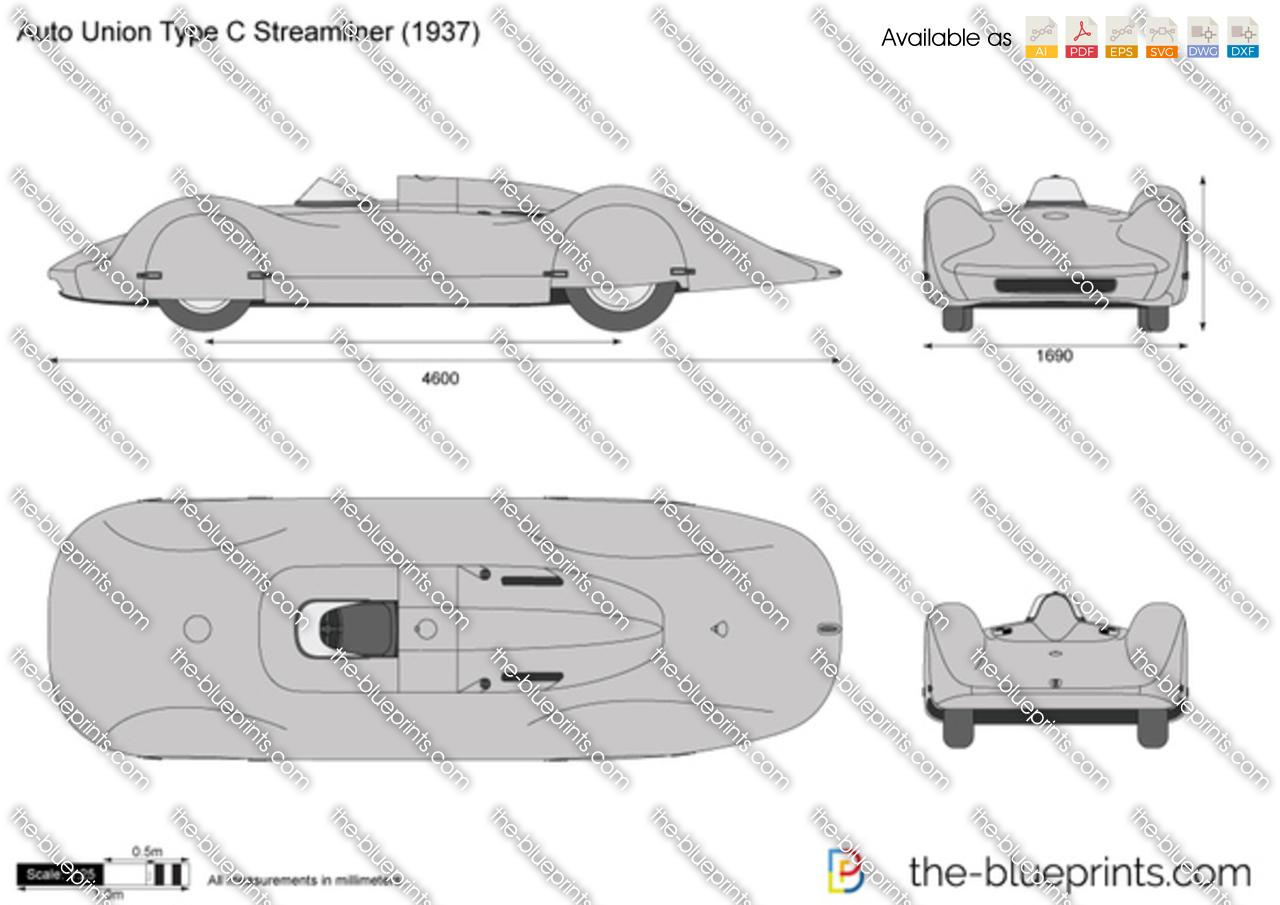 Auto Union Type C Streamliner