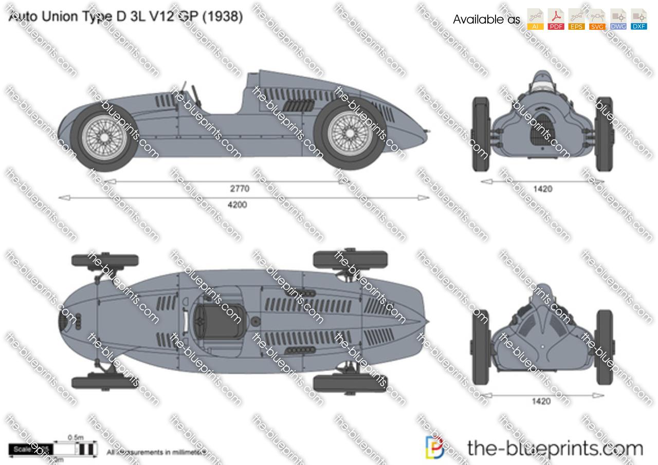 Auto Union Type D 3L V12 GP