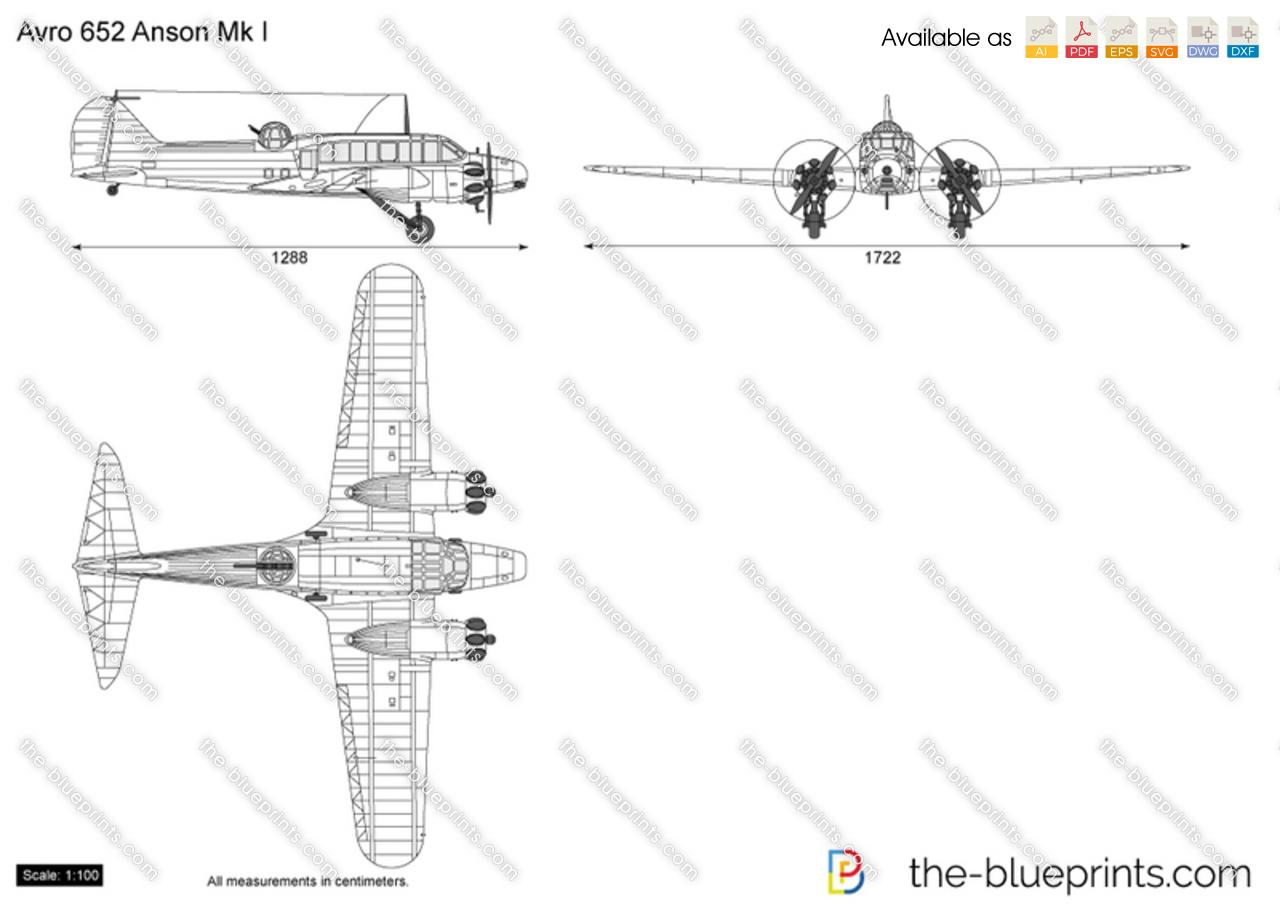 Avro 652 Anson Mk I