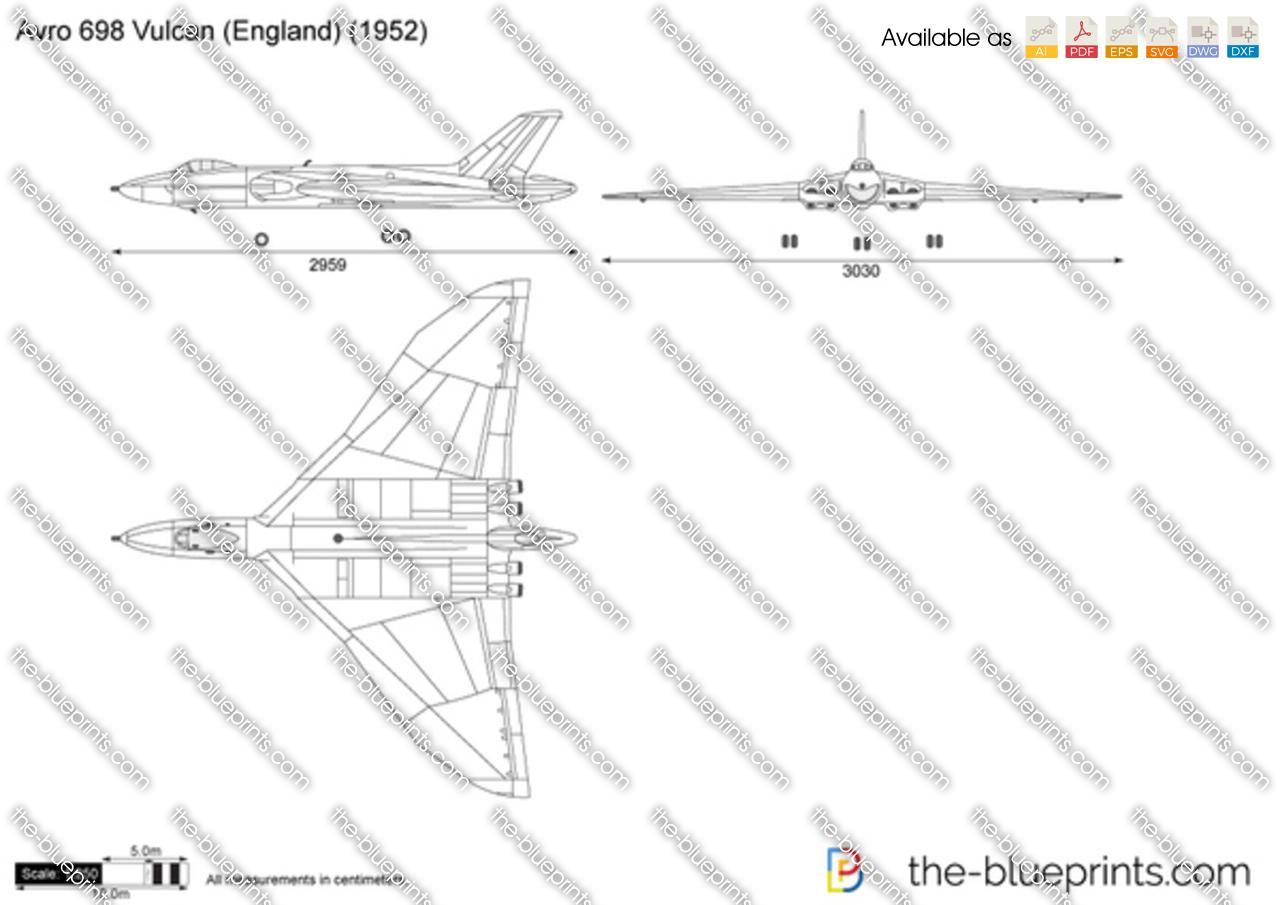 Avro 698 Vulcan (England)