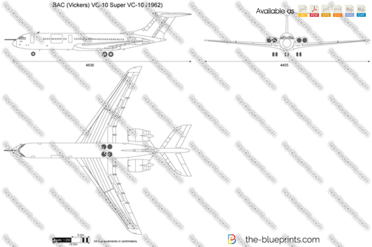 BAC (Vickers) VC-10 Super VC-10