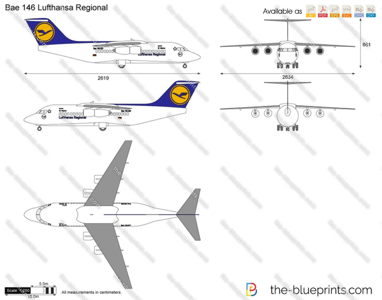 Bae 146 Lufthansa Regional