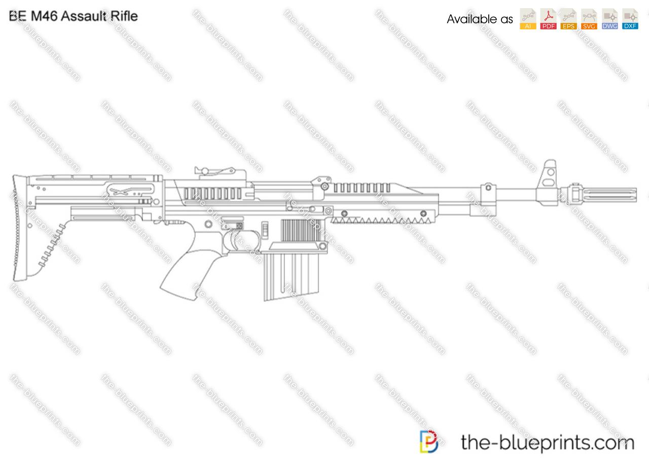 BE M46 Assault Rifle