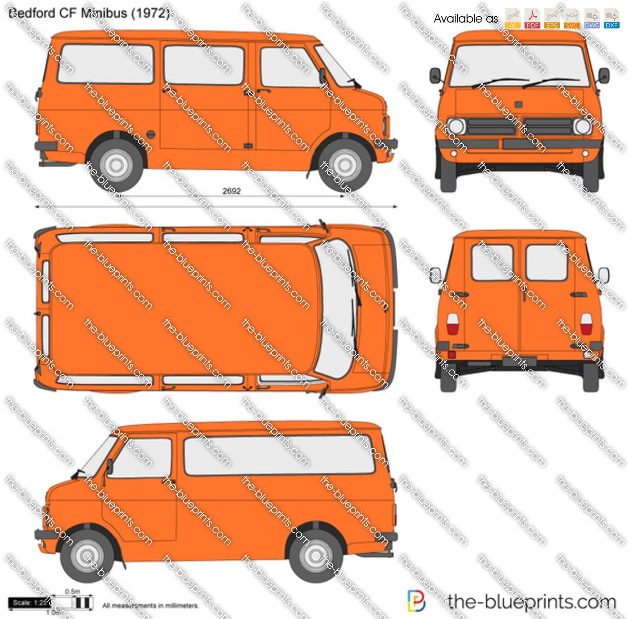 Bedford CF Minibus