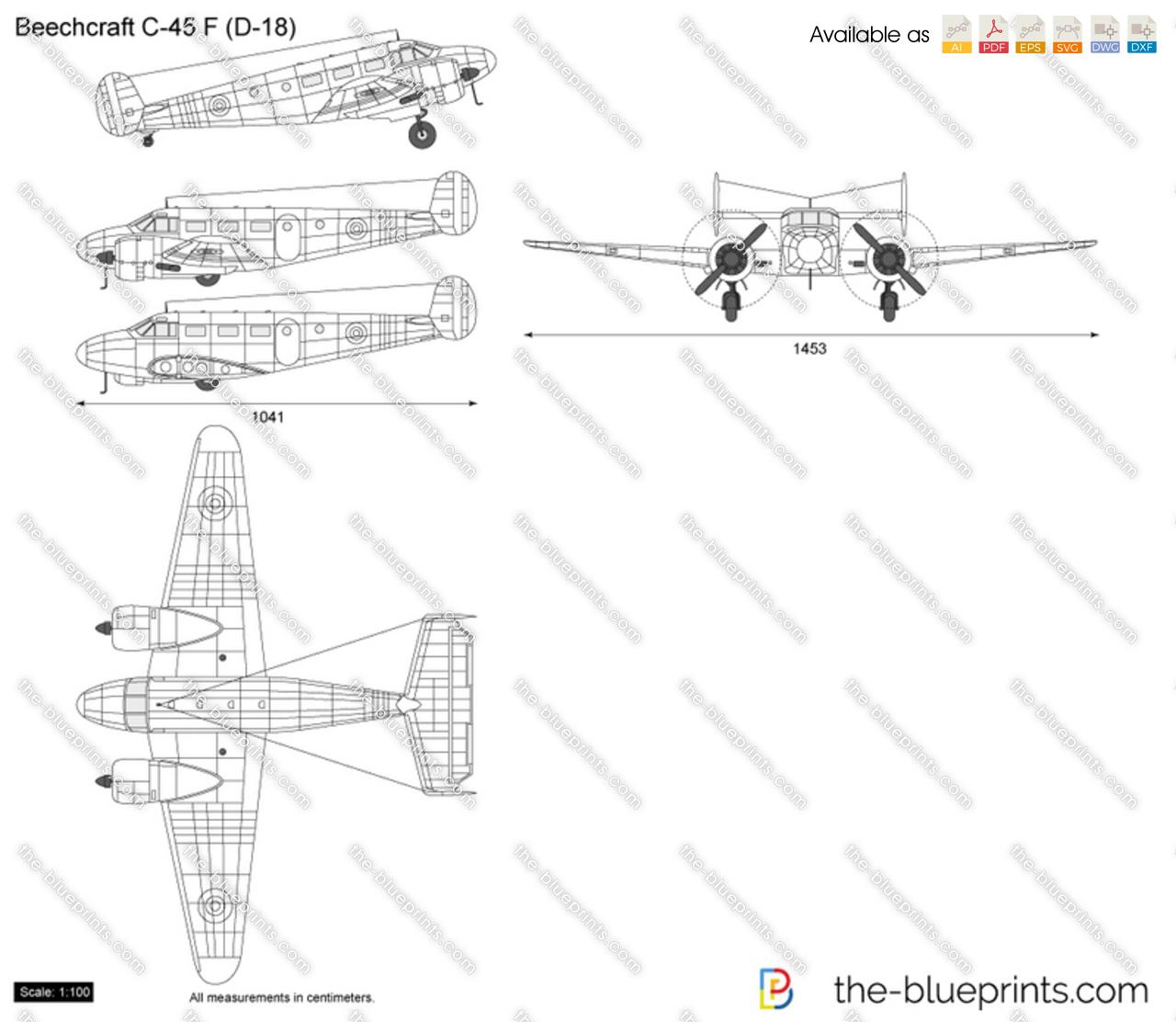 Beechcraft C-45 F (D-18)