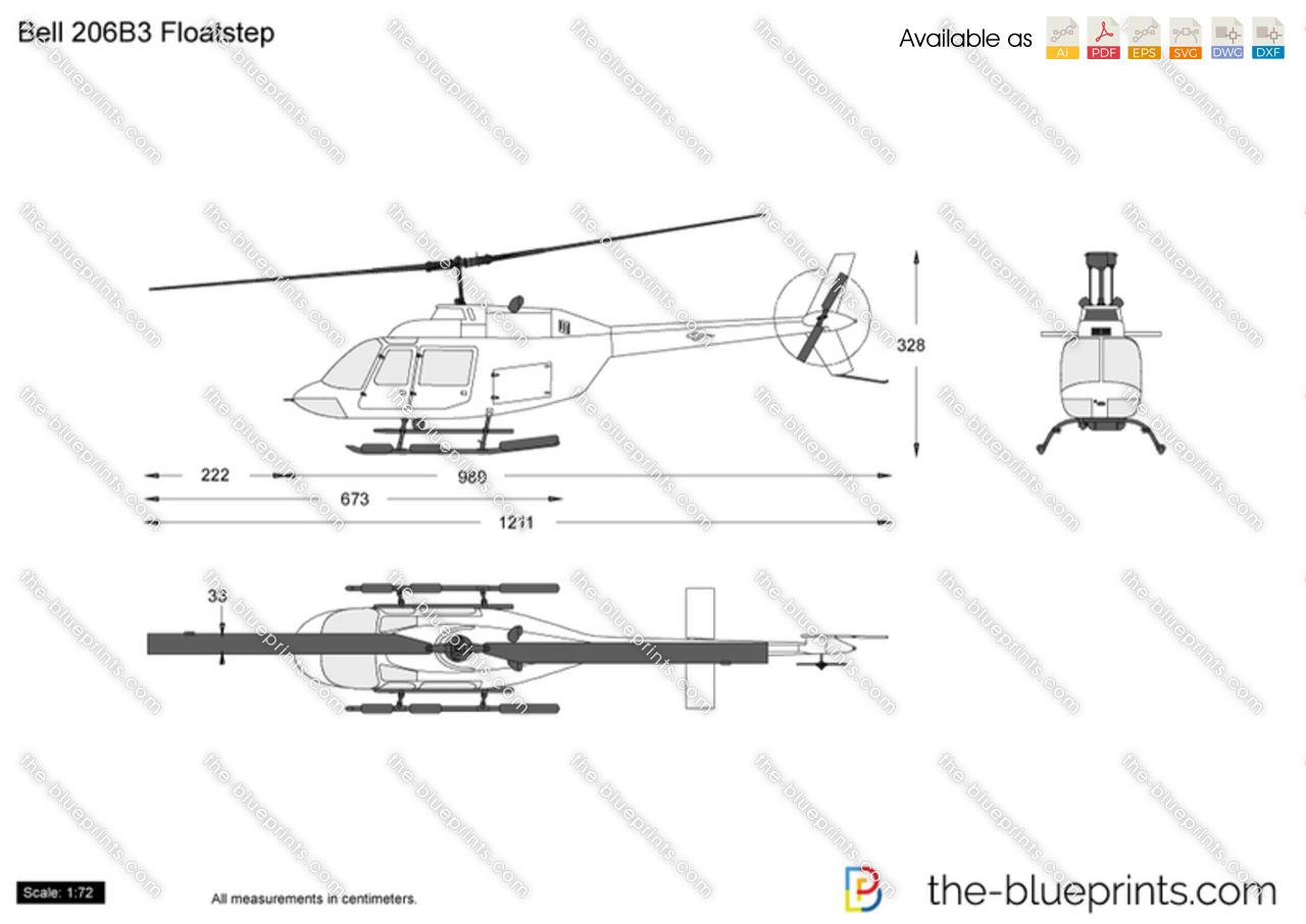 Bell 206B3 Floatstep