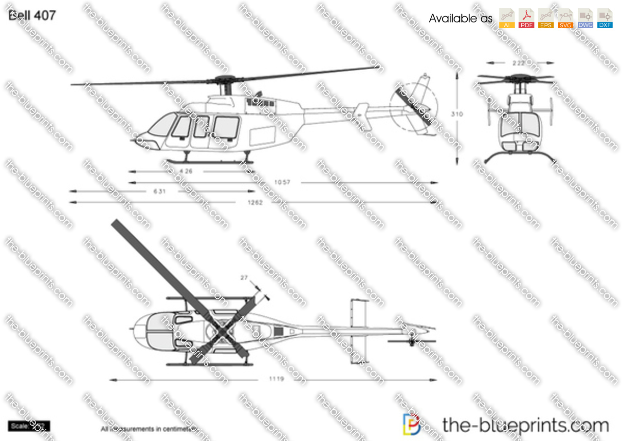 bell helicopter blueprint with Bell 407 on 107 likewise Bell 407 additionally EC145T2 Specs moreover Blue Thunder in addition Spaceship Parts.