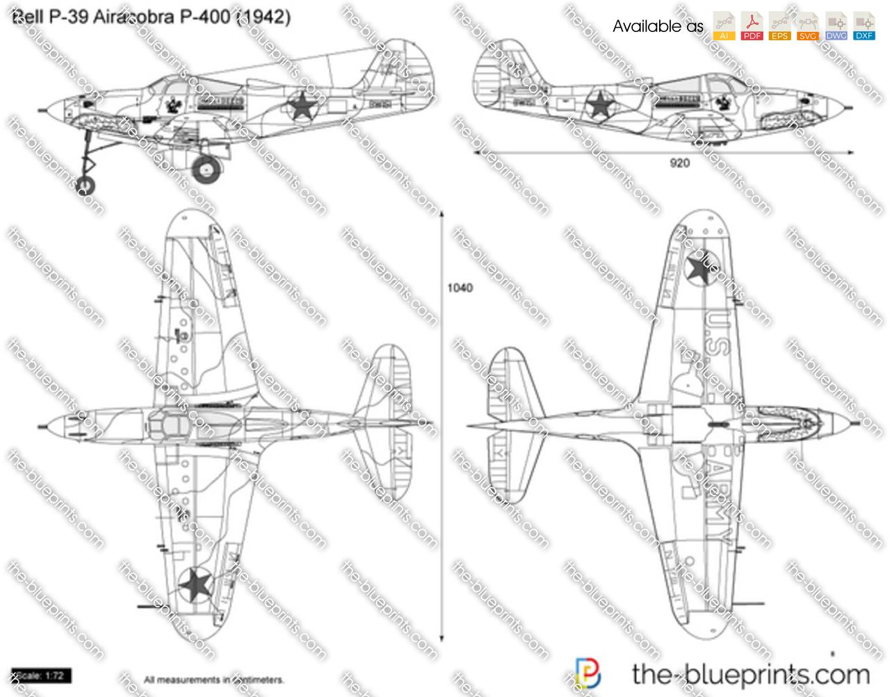 Bell P-39 Airacobra P-400