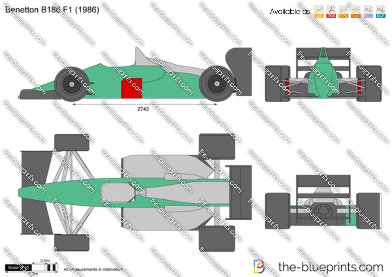 Benetton B186 F1