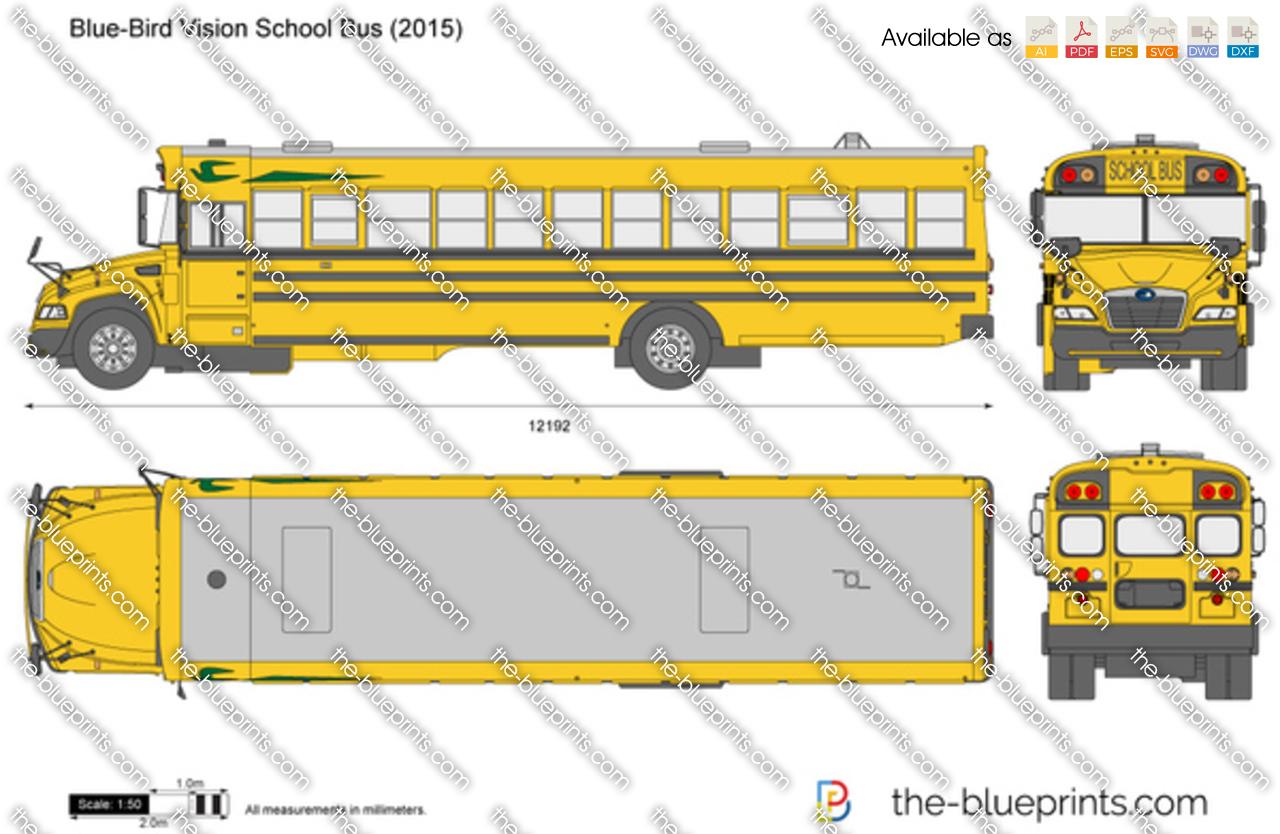 Blue-Bird Vision School Bus 2017