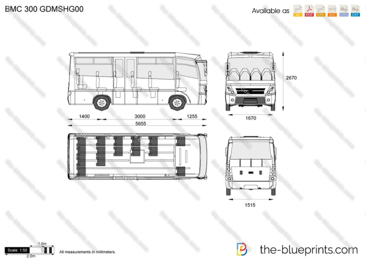 BMC 300 GDMSHG00