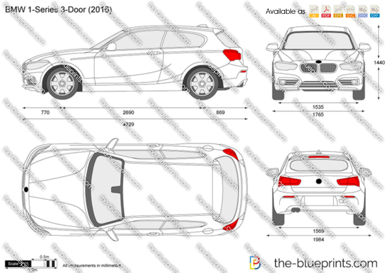 BMW 1-Series 3-Door F21 2019