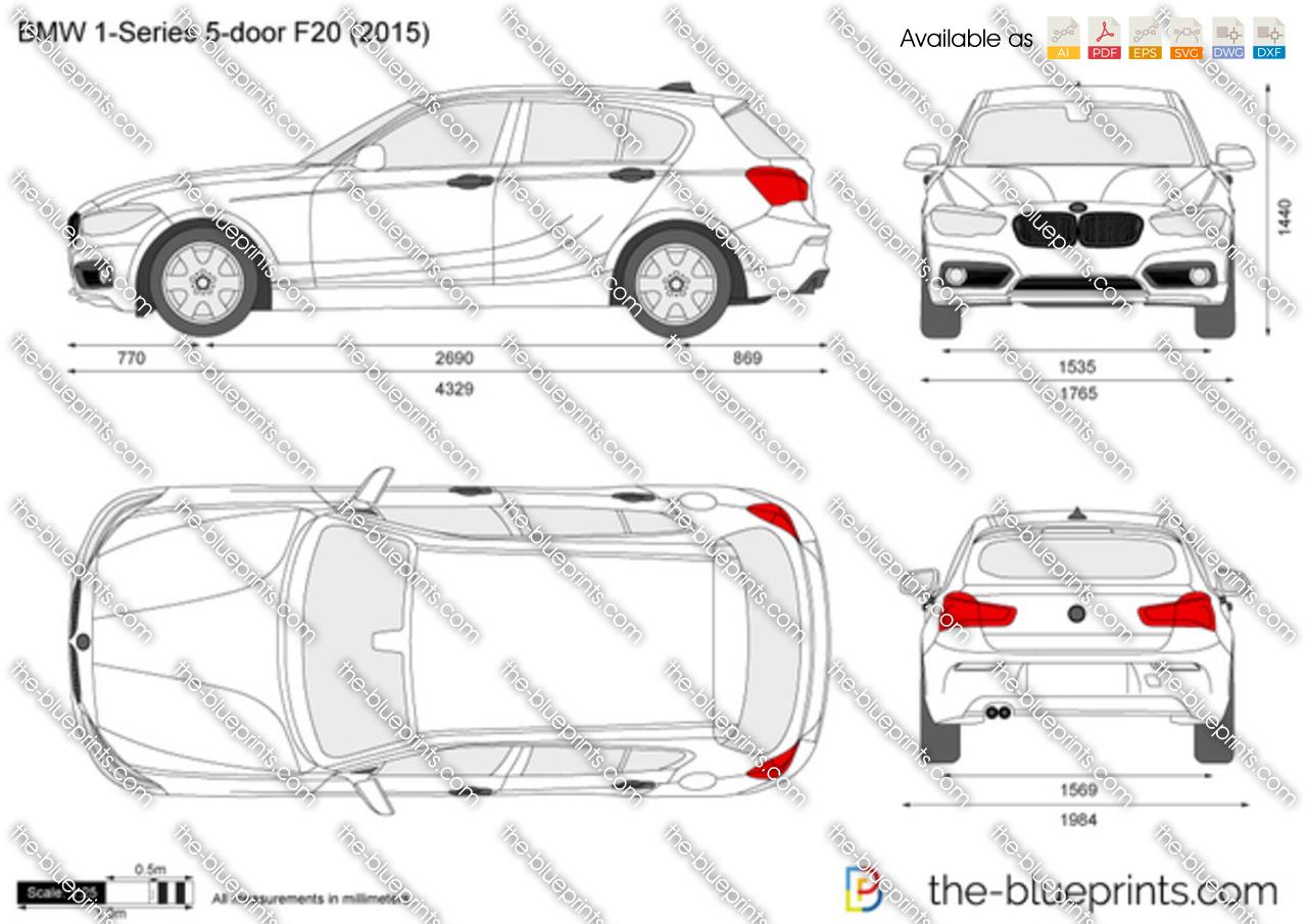 BMW 1-Series 5-door F20 2018