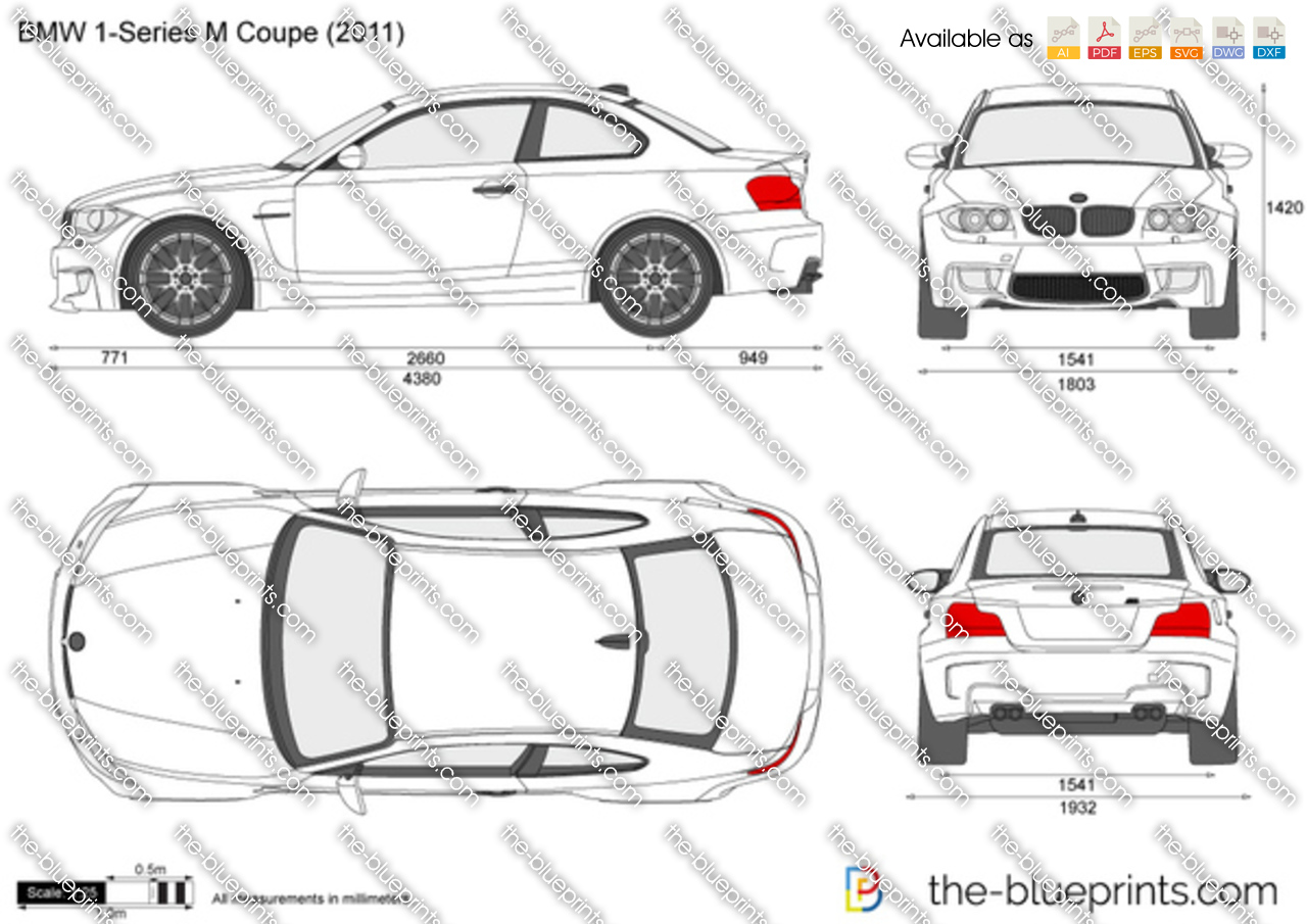the vector drawing bmw 1 series m coupe e82. Black Bedroom Furniture Sets. Home Design Ideas