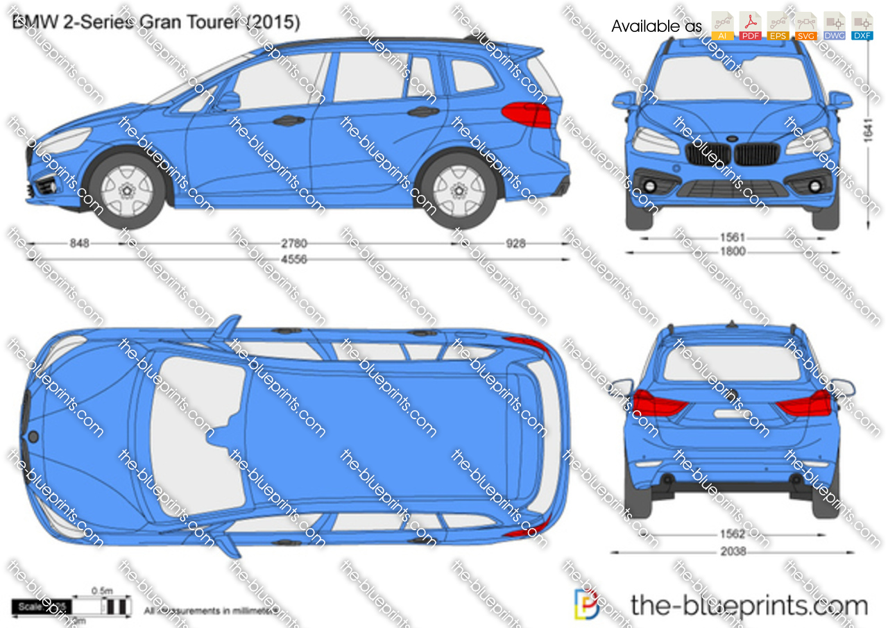 BMW 2-Series Gran Tourer F46 2017