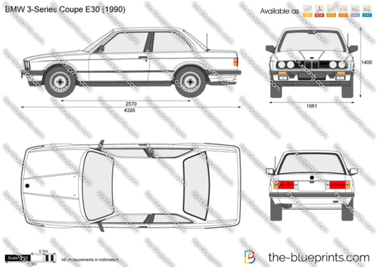 BMW 3-Series Coupe E30 1991
