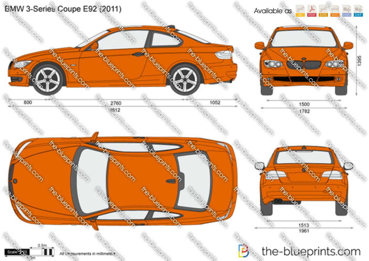 BMW 3-Series Coupe E92 2008