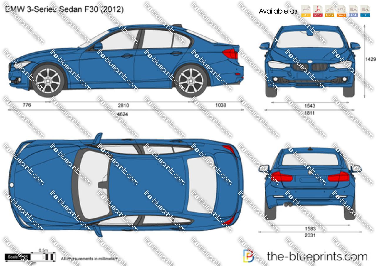 BMW 3-Series Sedan F30 2017