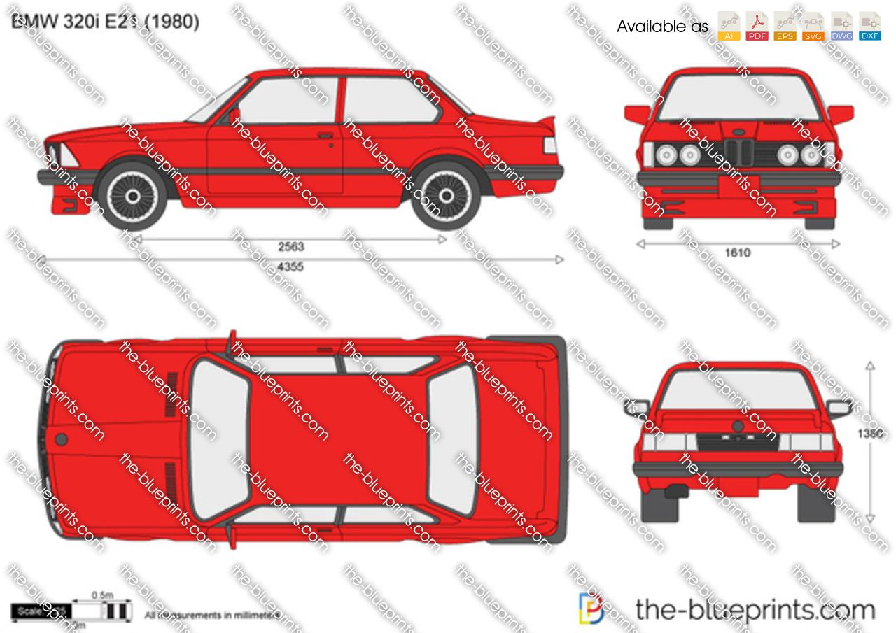 BMW 320i E21 1981