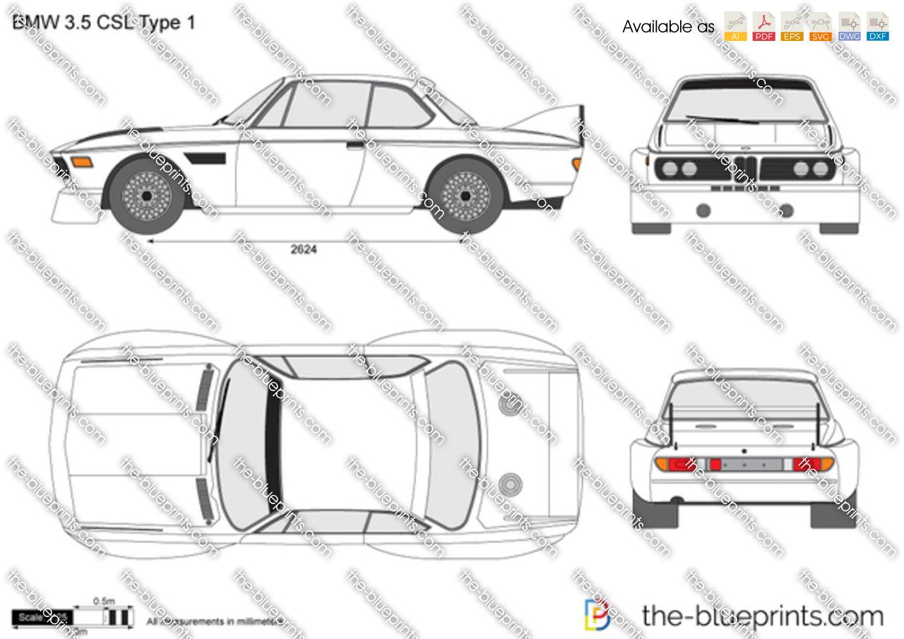 BMW 3.5 CSL Type 1