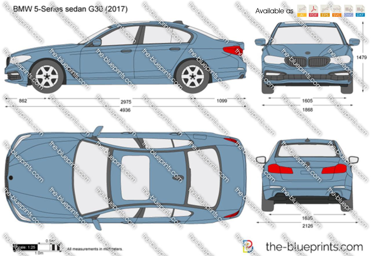 BMW 5-Series sedan G30 2017