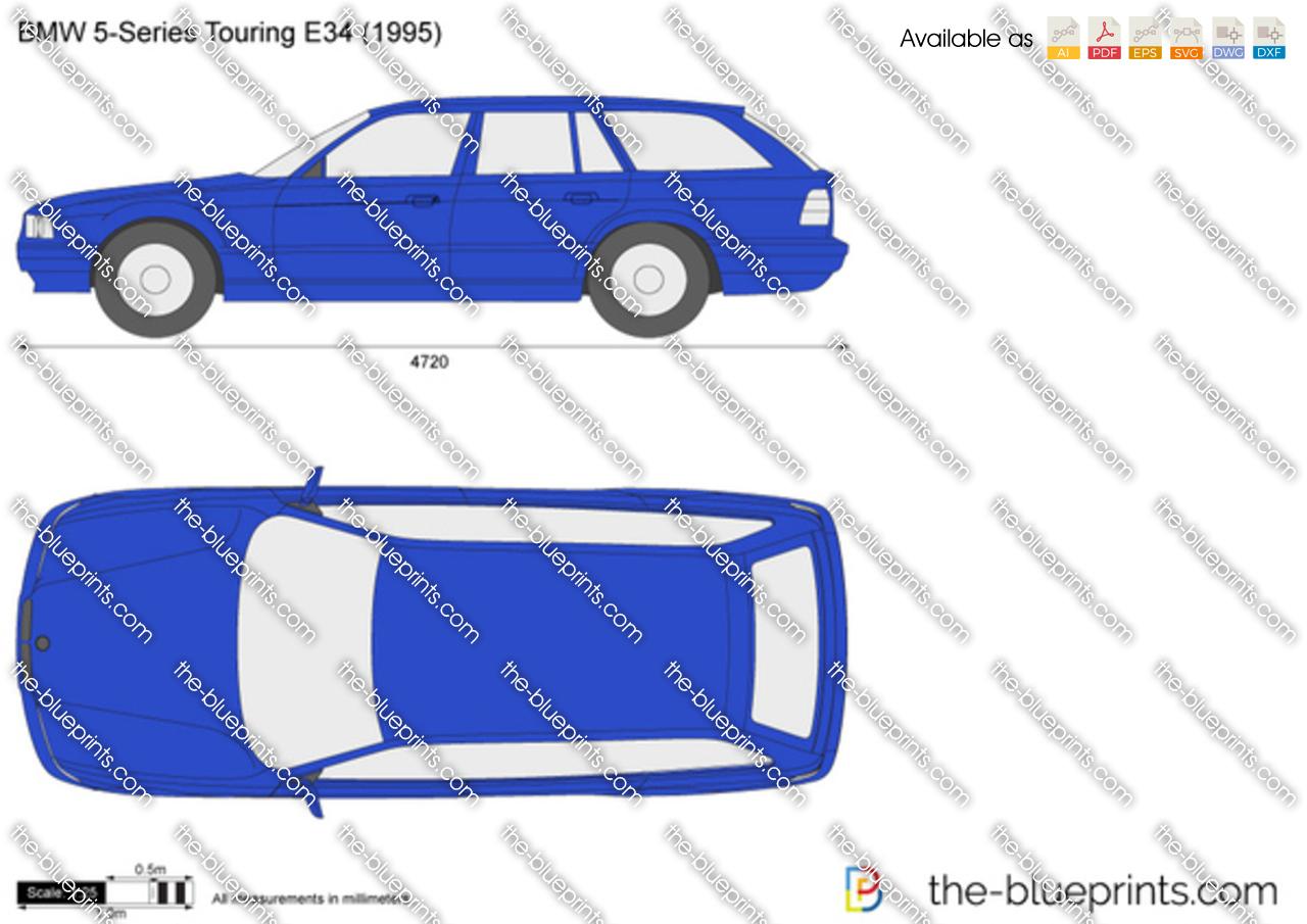 BMW 5-Series Touring E34