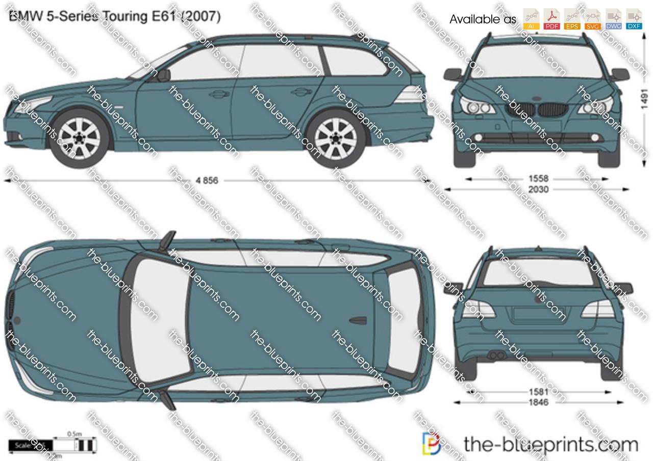 BMW 5-Series Touring E61