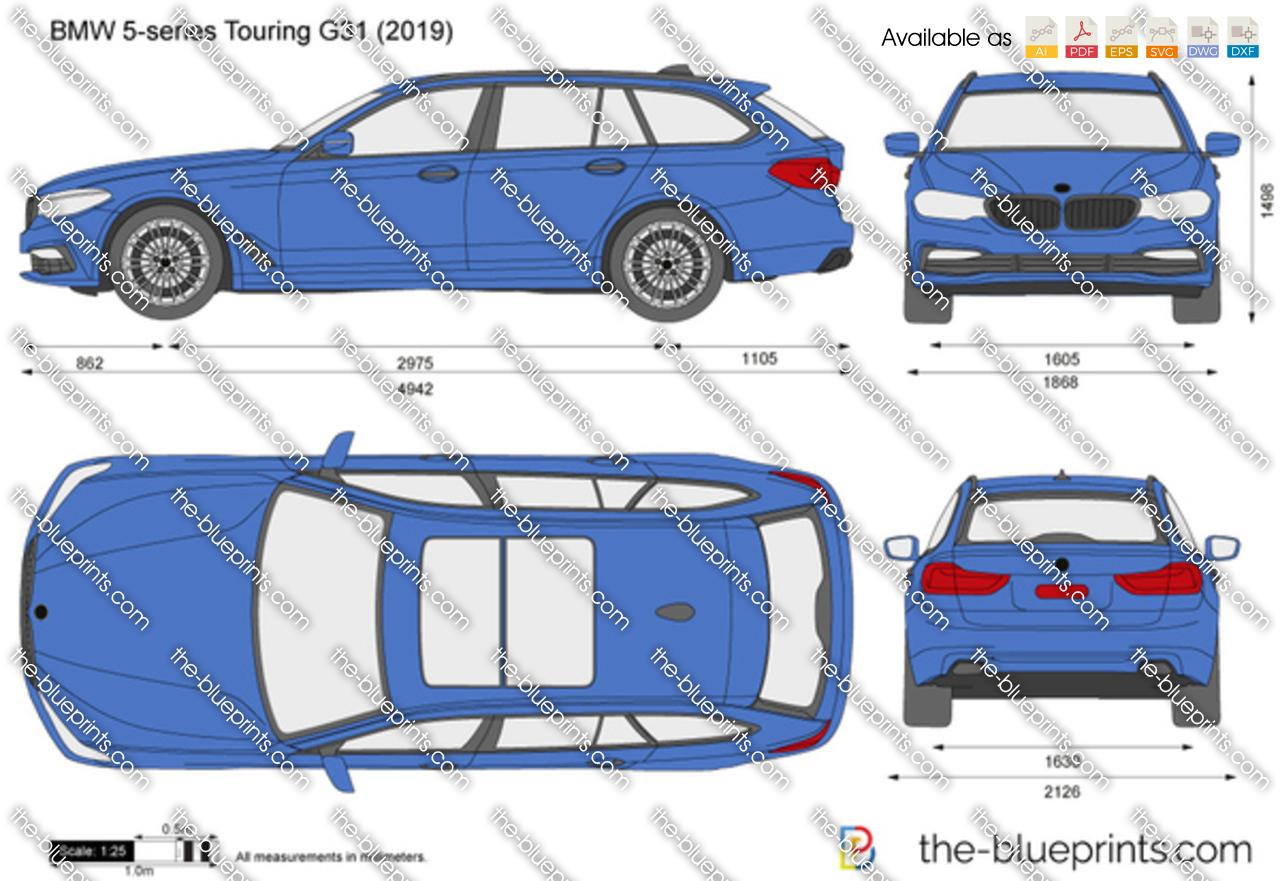 BMW 5-series Touring G31