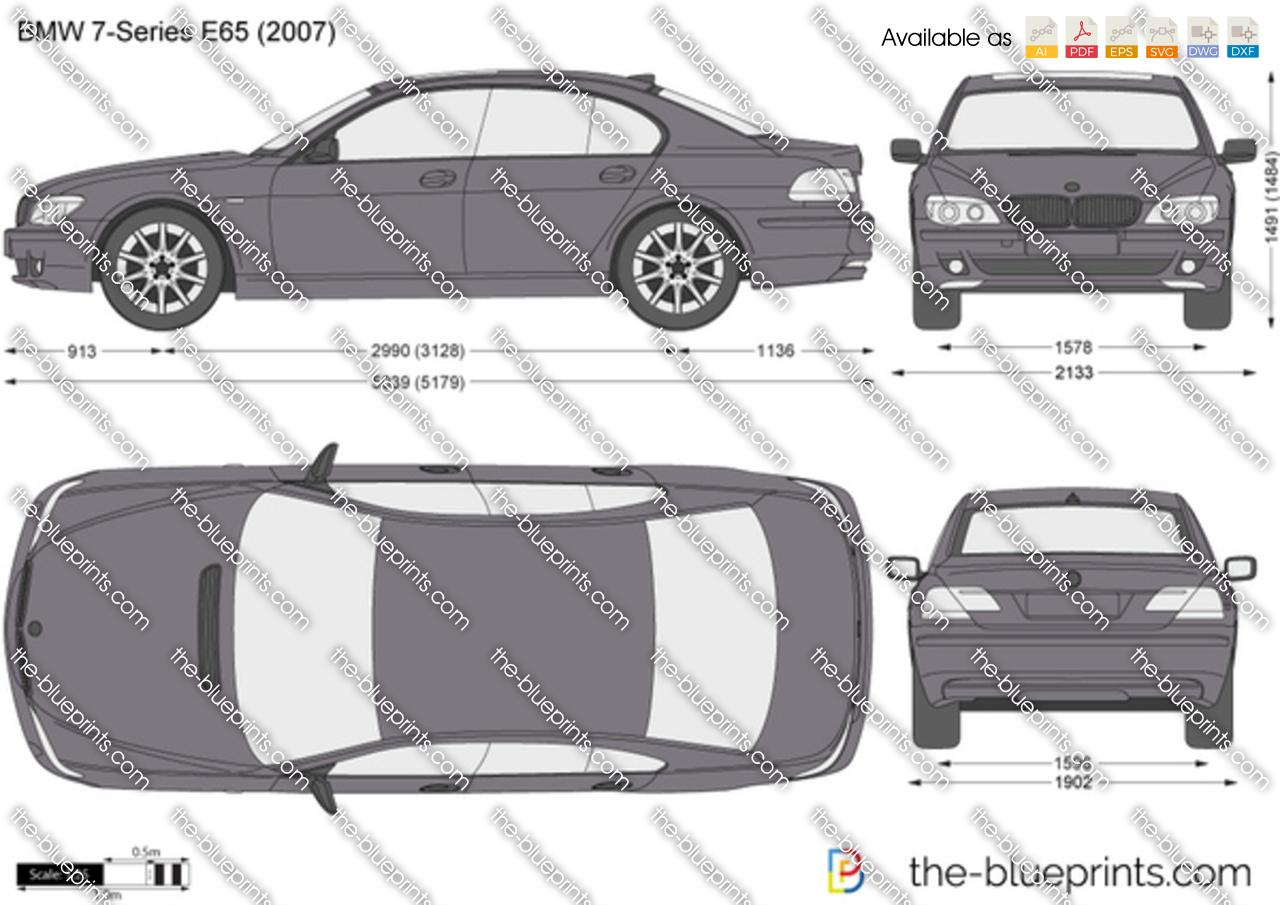 BMW 7-Series E65 2005
